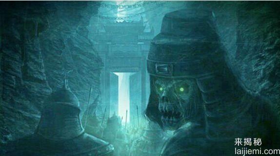 诡异的山洞坟场 阴风怒号阴兵借道