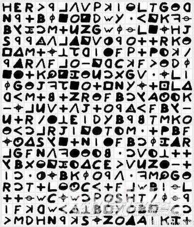 未破解的世界级密码 十二宫杀手密码