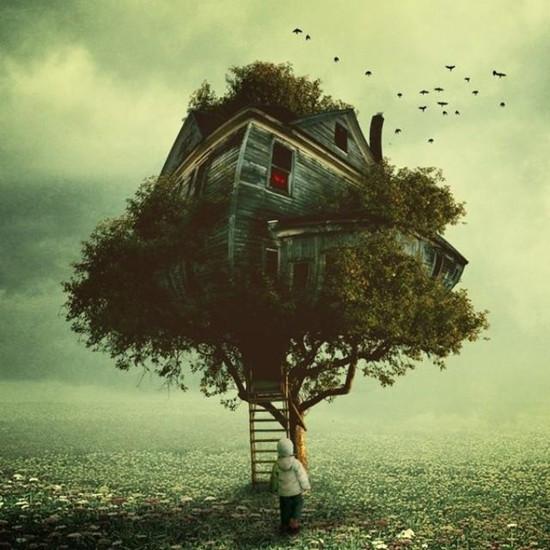 别人家的房子!来看看世界最著名的十大树屋