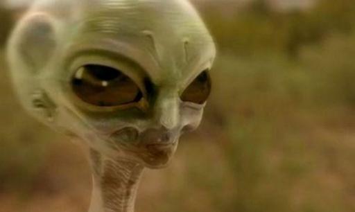 3个外星人惊现麦田怪圈 1秒之内消失无踪