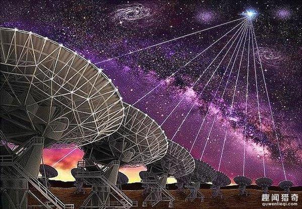 科学家都懵了:外星人用快速射电爆联系地球?