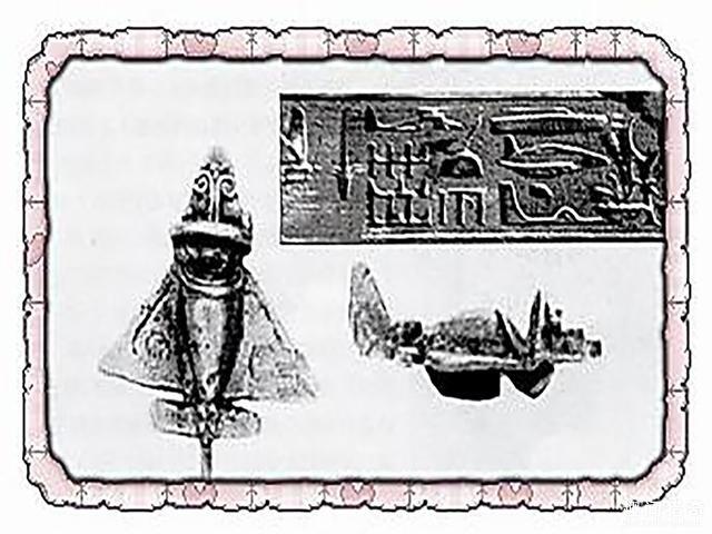 """4000年前的埃及人就已经见过飞机?还做出了""""木鸟模型"""""""