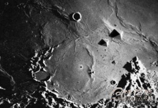 NASA隐瞒月球发现古文明事实