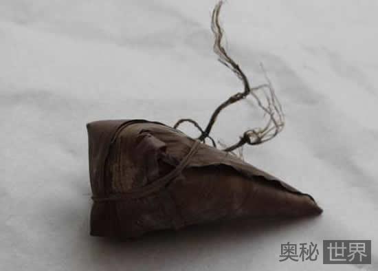 江西发现历史最早的粽子