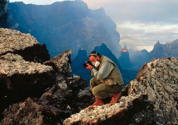 夏威夷几劳亚活火山