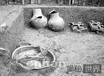 郧县发现春秋时代麇国王室墓葬
