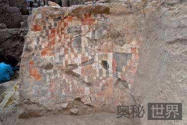 叙利亚发现世界最古老壁画