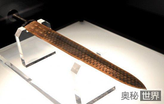 古代名剑越王勾践剑之谜