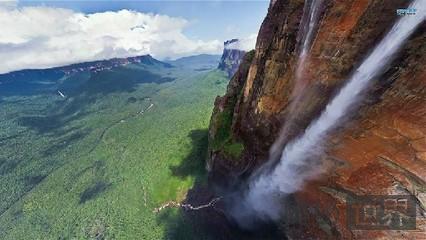 世界最大落差的瀑布:安赫尔瀑布