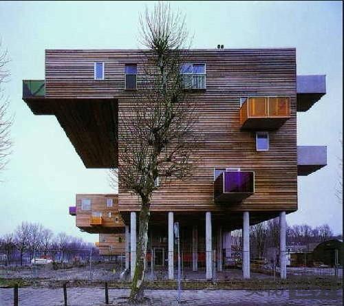 荷兰阿姆斯特丹WoZoCo老人公寓