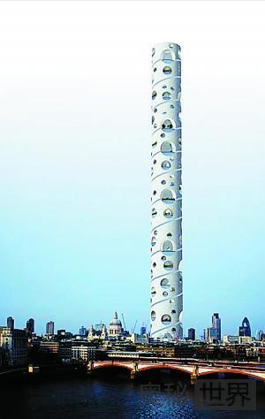 英国伦敦欲建世界上最高的通天塔