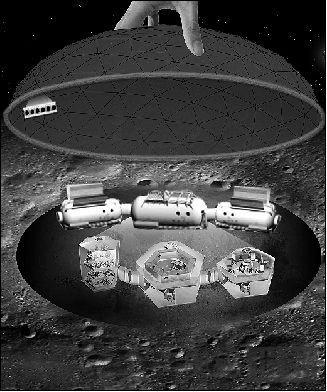 揭秘全球首个月球基地模型