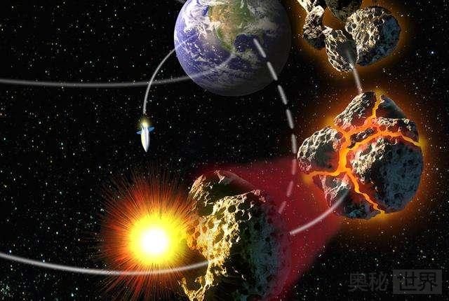 美国计划用核弹打掉撞地小行星
