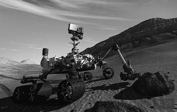 好奇号火星车在火星上拍到UFO