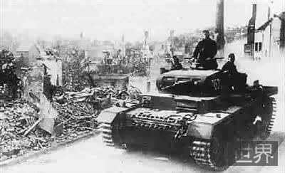 """二战德国进攻西欧的""""黄色方案""""计划"""