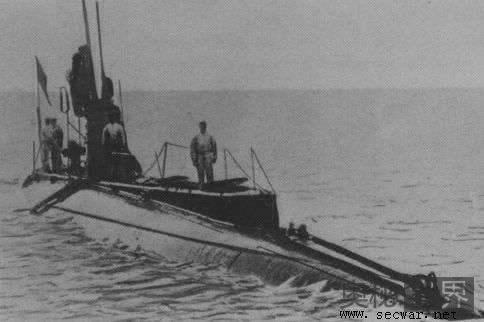 第一次世界大战潜艇闹鬼之谜