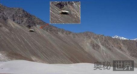 喜马拉雅山发现外星人基地