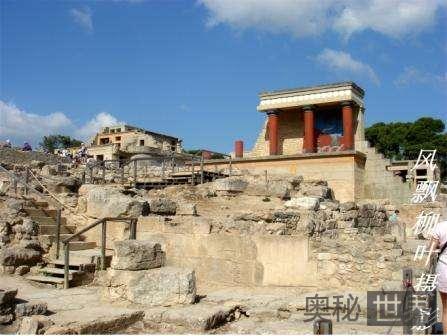 古希腊克里特文明的陷落