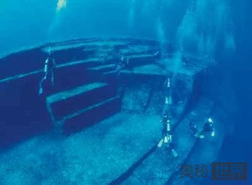 日本海底废墟