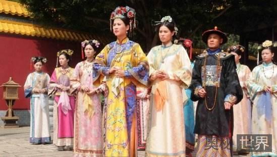 中国古代皇帝的后宫世界
