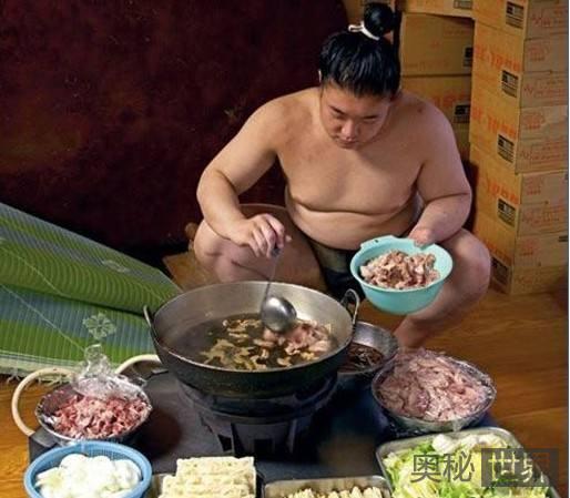 揭秘日本相扑手是如何催肥的
