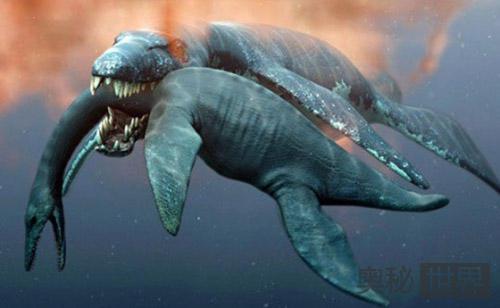 史上最凶猛的上龙:一口吞下大白鲨