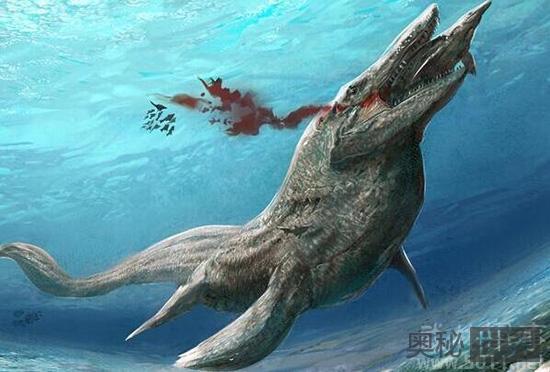 史前海洋终极掠食者正式命名为冯氏上龙