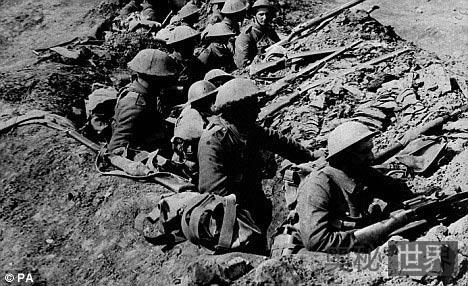 一战英国伤兵藏身德军司令部4年未被发现
