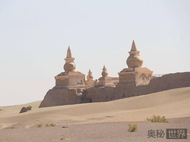 内蒙古巴丹吉林沙漠发现20处古代遗址