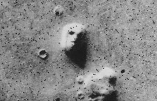 火星上的人脸