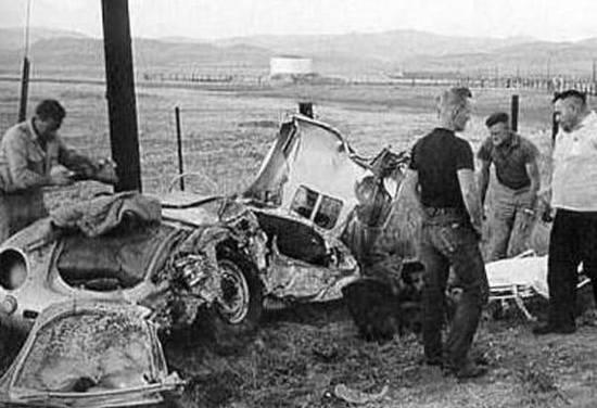 跑车的诅咒,詹姆斯·迪恩的保时捷使多人丧命