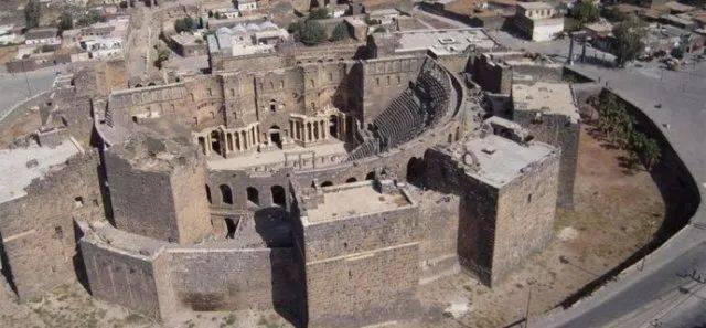 帕尔米拉古城遗址废墟