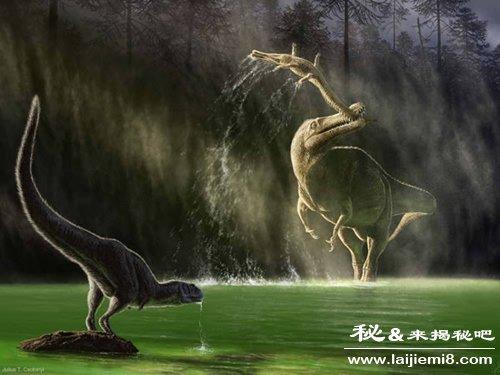 史前恐龙世界长什么样图片